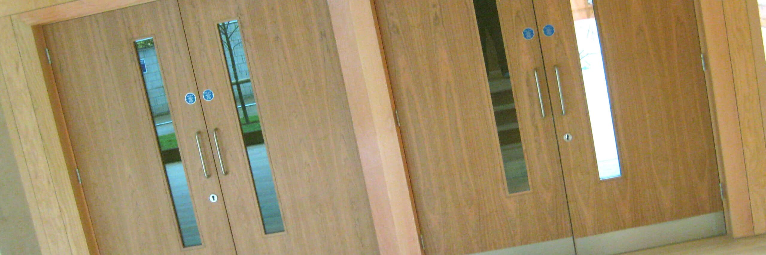 Fire rated glass office doors - 16